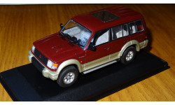 Mitsubishi Pajero, 1993, 2800 Intercooler Turbo Diesel, Long, Minichamps, Red, металл, 1:43