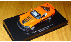 Dodge Viper Competition Coupe 'GoManGo' Special, Autoart,1:43, металл, масштабная модель, 1/43