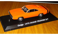 Dodge Charger R/T Hemi (1970), orange, GreenLight, 1:43, металл, масштабная модель, 1/43, Premium X