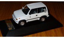 Suzuki Escudo 4х4 - white 1992 (PRD327) Premium X, 1:43, металл, масштабная модель, 1/43