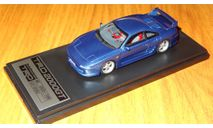 Toyota MR2 TRD 2000GT (SW20) (HS063BL) 1998 Blue, Hi-Story, смола, 1:43, масштабная модель, 1/43