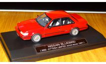 Nissan Bluebird SSS-Attesa Ltd - red1987 (HS069RE), Hi-Story, смола, 1:43, масштабная модель, 1/43