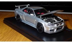 Nissan Skyline GT-R R34 Nismo Z-tune Kyosho, металл, 1:43