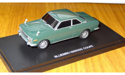 Nissan Bluebird 1600SSS coupe, Hand Made Model, ColdCast, Kyosho, 1:43,, масштабная модель, 1/43