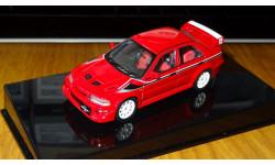 Mitsubishi Lancer Evolution VI Tommi Makinen Edition Street Car, Red, 1:43, металл