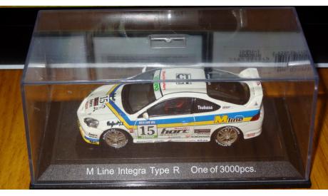 Honda Integra Type R M-Line, Ebbro,1:43, металл, масштабная модель, 1/43