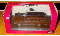 Nissan Cedric Van V20E Deluxe (1999), Brown, Aoshima Dism, 1:43, Металл