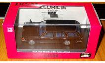 Nissan Cedric Van Deluxe (1995), Black, Aoshima Dism, 1:43, Металл, масштабная модель, 1/43