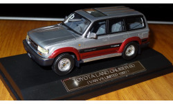 Toyota Land Cruiser 80 Van VX Limited 1992, Adventure Road Toning, Hi-Story, 1:43, Смола