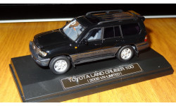 Toyota Land Cruiser 100 VX Limited 2005, Black, Hi-Story, 1:43, Смола