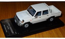 Toyota Land Cruiser 70 Pickup 30'th Anniversary, White, Wit's, 1:43, Смола, масштабная модель, 1/43