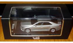 Toyota Mark X 2012, Silver, Wit's, 1:43, Смола