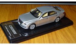 Toyota Crown Hybrid Royal Saloon 2013, vinous, Wit's, 1:43, Смола