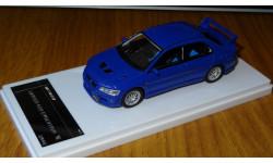 Mitsubishi Lancer GSR Evolution VII, 2001, Blue, Wit's, 1:43, Смола