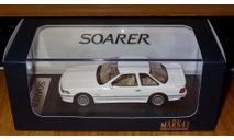 Toyota Soarer 3.0GT-Limited (E-MZ20), 1990, Super White III, Mark43, 1:43, Смола, масштабная модель, 1/43