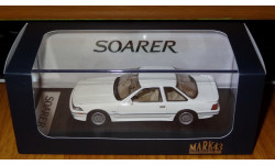 Toyota Soarer 3.0GT-Limited (E-MZ20), 1990, Super White III, Mark43, 1:43, Смола