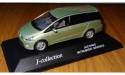 Mitsubishi Grandis, J-Collection, 1:43, металл, масштабная модель, 1/43