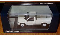 Nissan Datsun Truck Long Body AD (1985), White, Hi-Story, 1:43, смола, масштабная модель, 1/43