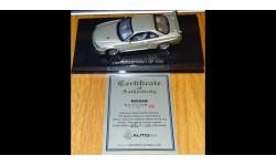 Nissan Skyline GTR R34 V-Spec II Nur Limited Edition (Millennium Jade), Autoart,Сертификат,, масштабная модель, 1:43, 1/43