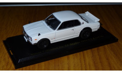 Nissan Skyline 2000 GT-R (1970) Nissan Collection №33, 1:43, металл