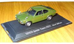 Модель Toyota Sprinter Trueno 1972, TE27, Ebbro,1:43, металл