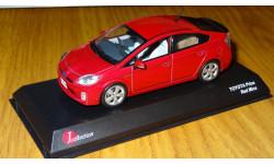 Toyota Prius 2011 Red Mica J-collection- Kyosho, масштабная модель, 1:43, 1/43