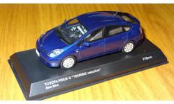 Toyota Prius 2009 G Touring Selection Blue Mica Kyosho, масштабная модель, 1:43, 1/43