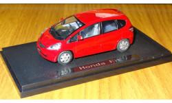 Honda Fit, Ebbro, 1:43, металл, масштабная модель, 1/43