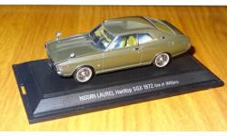 Nissan Laurel Hardtop SGX 1972, Ebbro, 1:43, металл, масштабная модель, 1/43