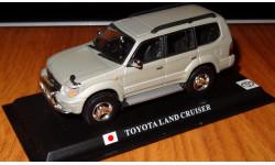 Toyota Land Cruiser Prado, Del Prado, металл, 1:43