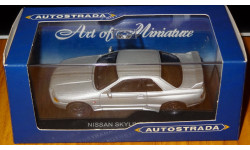 Nissan Skyline GT-R R32, Autostrada, Silver, металл, 1:43, масштабная модель, 1/43, Del Prado (серия Городские автомобили)