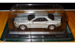 Nissan Skyline GT-R R32, Del Prado, Silver, металл, 1:43, масштабная модель, 1/43, Del Prado (серия Городские автомобили)