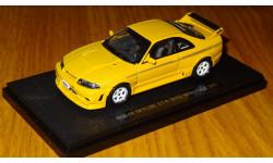 Nissan Skyline GT-R (R33) NISMO 400R, Yellow, Ebbro, 1:43, металл, масштабная модель, 1/43