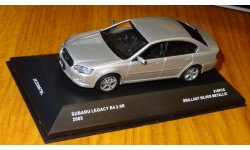 Subaru Legacy B4 2.0R 2005, Brilliant Silver Metallic, J-Collection, 1:43, металл, масштабная модель, 1/43
