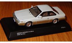 Nissan Leopard 3.0 Ultima 1986, Kyosho, 1:43, металл