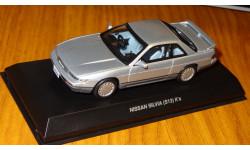 Nissan Silvia S13 K's 1988, Kyosho, 1:43, металл