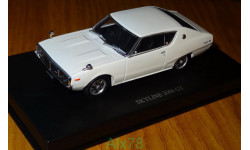 Nissan Skyline 2000 GT 1972, Aoshima Dism, 1:43, металл, масштабная модель, 1/43