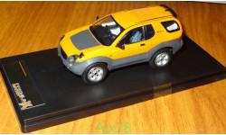 Isuzu VehiCROSS 1997, Yellow, PremiumX, 1:43, корпус металл