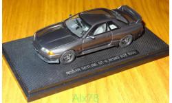 Nissan Skyline GT-R (BNR32) NISMO, GUN GRAY, ebbro, 1:43, металл, масштабная модель, 1/43