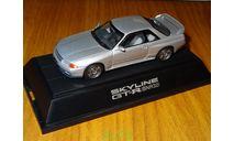 Nissan Skyline GT-R (BNR32) SILVER, ebbro, 1:43, металл, масштабная модель, 1/43