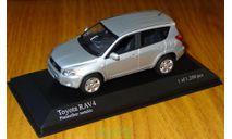 Toyota RAV 4, 2006, Minichamps, Platinsilber metallic, 1:43, металл, масштабная модель, scale43