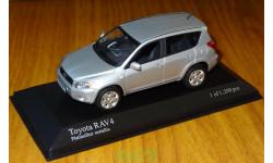 Toyota RAV 4, 2006, Minichamps, Platinsilber metallic, 1:43, металл