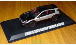 Subaru Impreza WRX STI 2009 Fast & Furious Форсаж 1:43 Металл