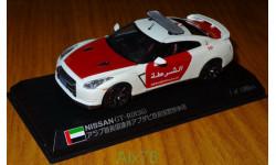 Nissan GTR (R35) Abu Dhabi Police Dept., MONOX, 1:43, Металл