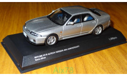 Nissan Skyline GT-R (R33) Autech Version 40th Anniversary, Kyosho, 1:43, Металл