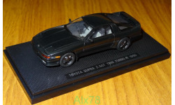 Toyota Supra 2,5GT Twin Turbo R JZA70 1990, Dark Green, Ebbro, 1:43, металл