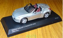 Nissan Fairlady Z Roadster (Z34), brilliant silver, Kyosho, 1:43, металл, масштабная модель, scale43