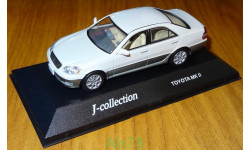 Toyota Mark II Grande G 2001, J-Collection, 1:43, металл