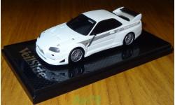 Nissan Skyline GT-R (BNR34) VeilSide Street Drag, 1:43, coldcast, масштабная модель, 1/43, Aoshima