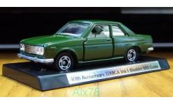 Nissan Bluebird SSS coupe, 40th Anniversary Tomica, 1:60, металл-пластик